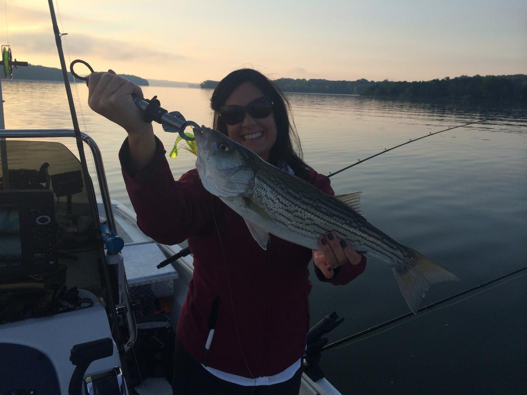 Sarah's rockfish photo