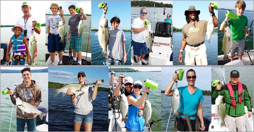 Nashville Fishing Guides Collage